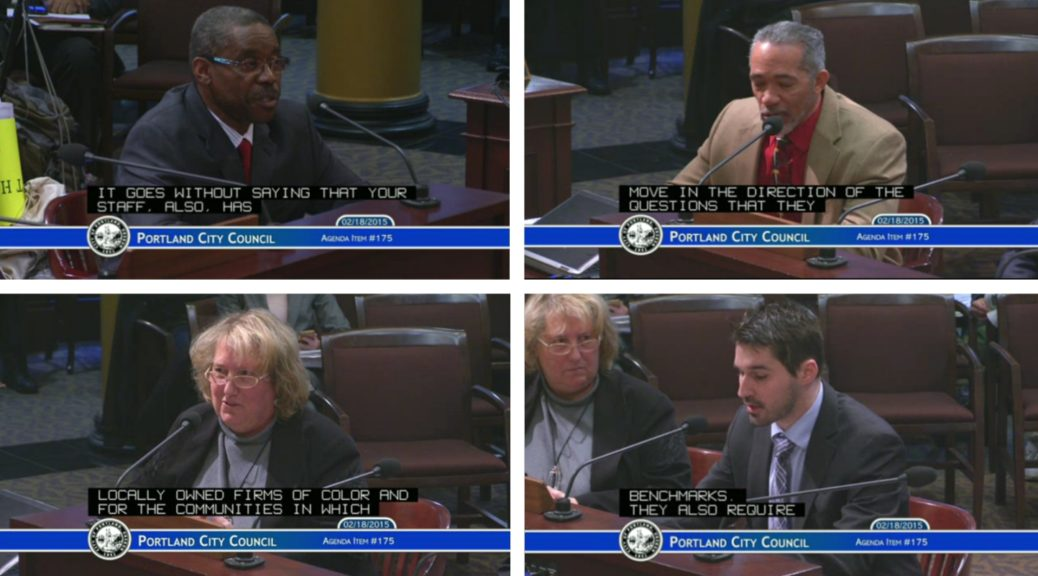 Equitable Contracting & Purchasing Ordinance proposed by Mayor Charlie Hales 1