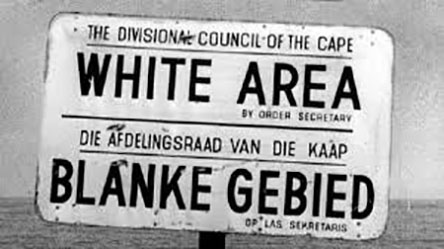 Apartheid Pure and Simple 1