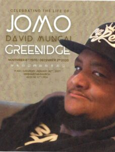 Jomo Gone way too soon 9